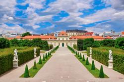 Lower Belvedere Vienna, Austria