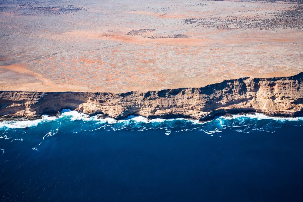 Shark Bay,, Zuytdorp cliffs, Denham, Wes