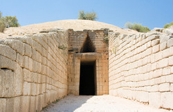 Greek Tomb of Agamemnon, Peloponnese, Gr