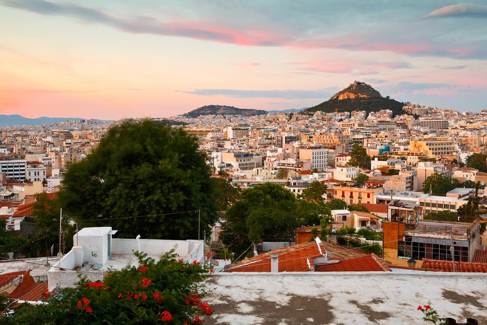 Anafiotika, Athens - Greece_