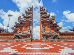 Iconic Travel Entrance gate in Denpasar