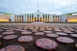 Parliament House in Canberra,Au