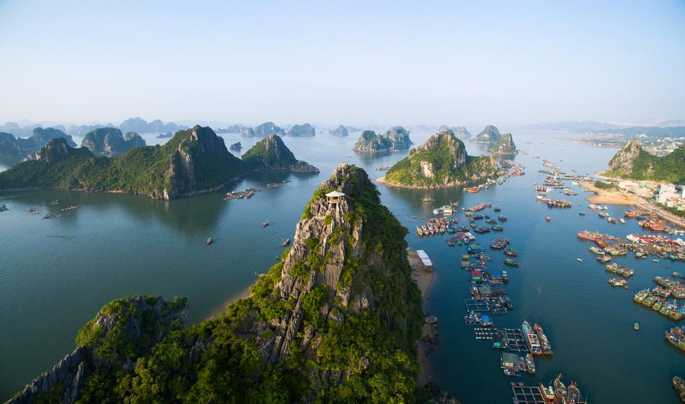 Long Bay, Vietnam.