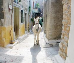 Village, Chios, Greece.
