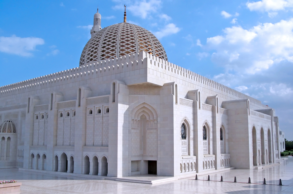 Muscat, Oman, Sultan Qaboos Grand Mosque