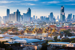 Iconic Travel Sunrise with Grand Palace