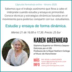 Capsula Dalcroze verano 2020  Karin Gree