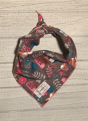 Woodland Animals Flannel bandana