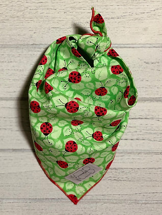 Cotton Lady Bugs Bandana