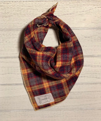Autumn Flannel Bandana