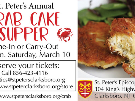 2018 Crab Cake Supper