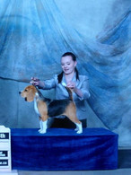 Her first GCH points
