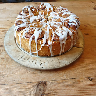 Scandinavian Bun Cake