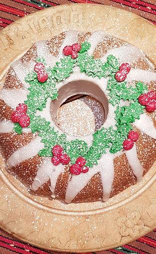 Swedish Christmas Spice Cake (Mjuk  Pepperkake )