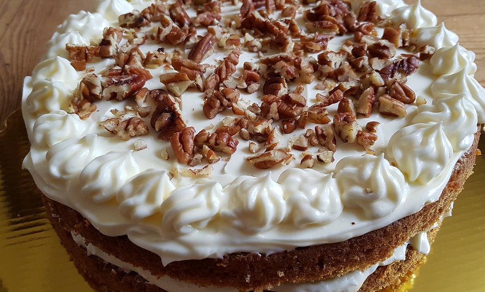 Norwegian Carrot & Apple Cake