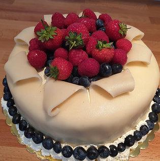 Scandinavian Marzipan Cake