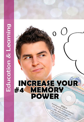 #4 INCREASE YOUR MEMORY POWER