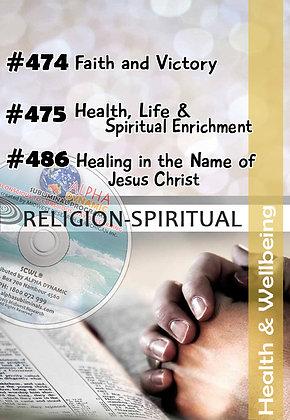 Custom Religious-Christian TITLES #474~#475~#486