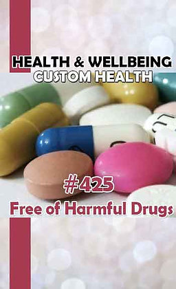 #425 FREE FROM DRUGS