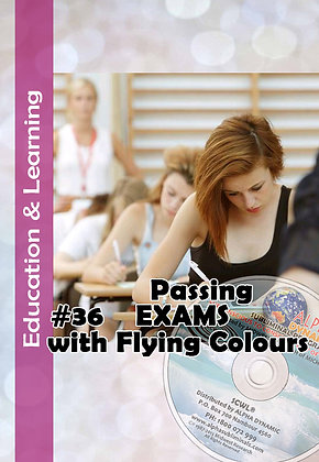 #36 PASSING EXAMS WITH FLYING COLOURS