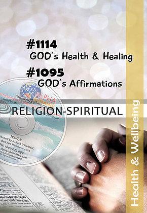 FAITH IN GOD Programs – #1114~#1095