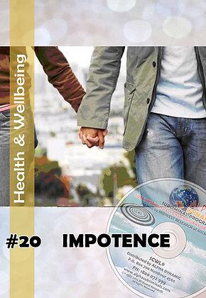 #20 IMPOTENCY