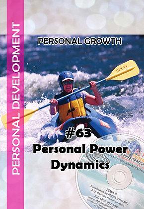 #63 – Personal Power Dynamics –