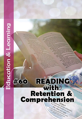 #60 READING WITH COMPREHENSION & RETENSION