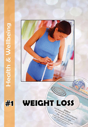 #1 - WEIGHT LOSS - Weight Control