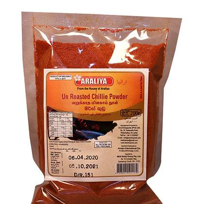 Araliya Un Roasted Chillie  Powder 200g