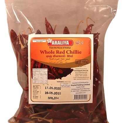 Araliya Whole Red Chilli 100g