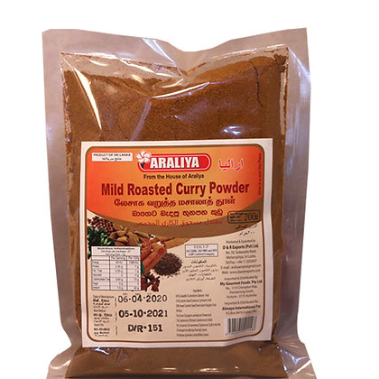Araliya Curry  Powder - Pkts (Mild)