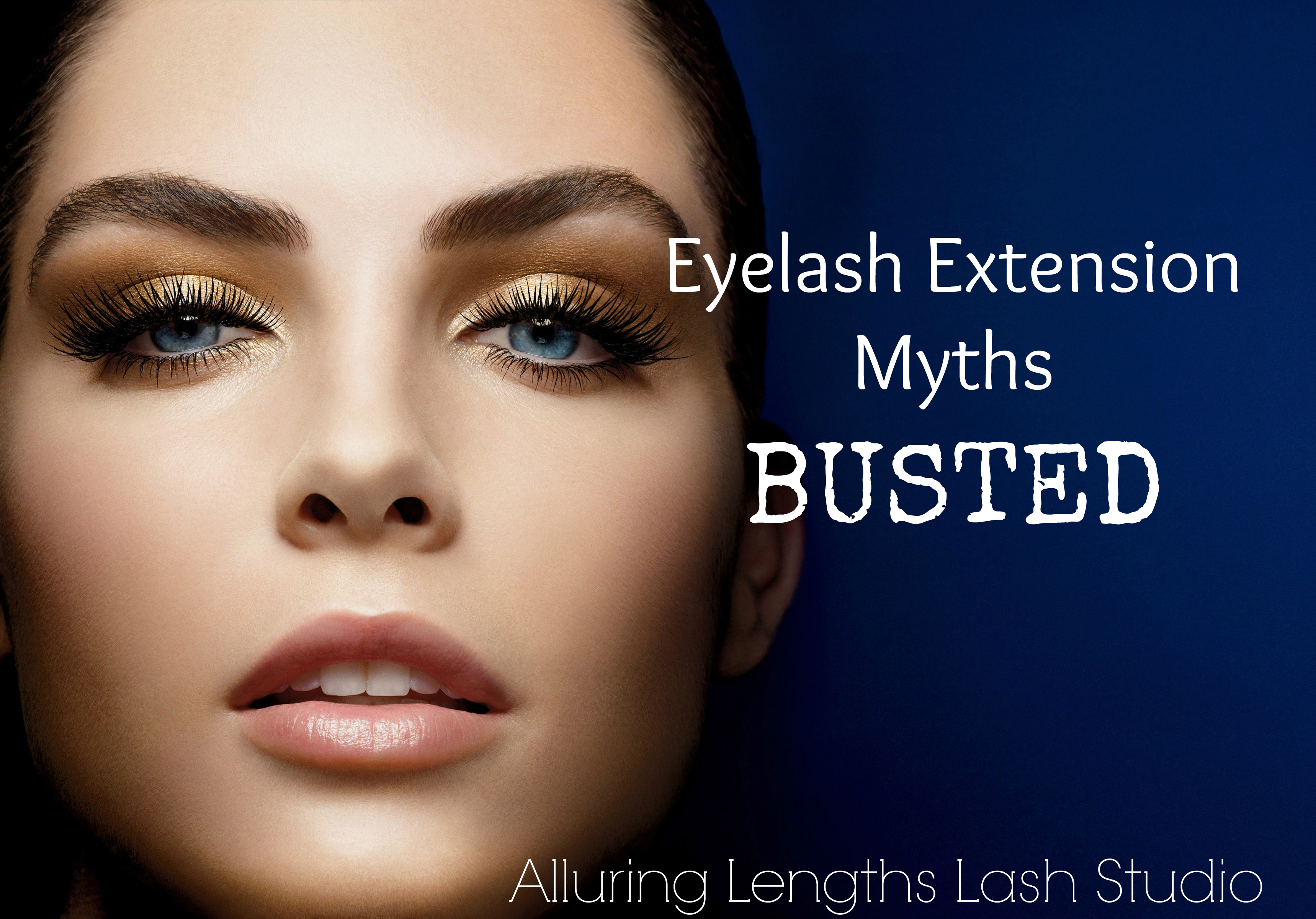 5 Eyelash Extension Myths Busted Alluring Lengths Lashes