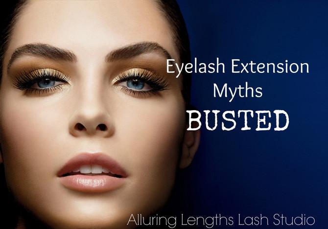 5 Eyelash Extension Myths BUSTED
