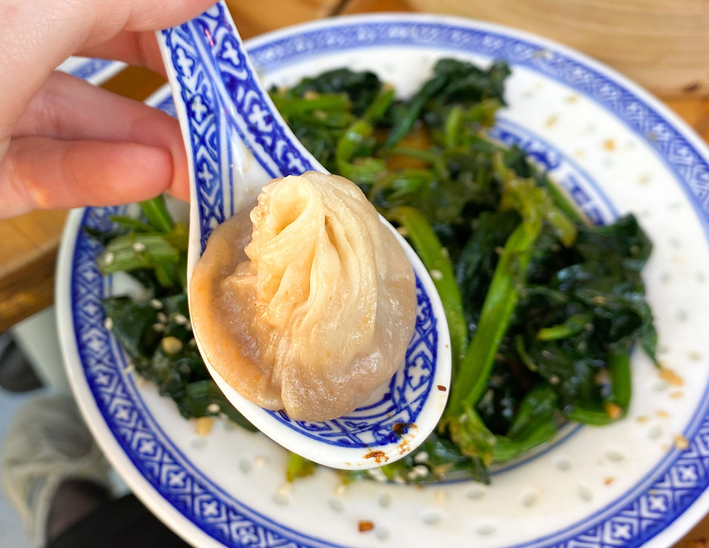 Xiaolongbao de Petit Bao - Photo par Hélène Borderies