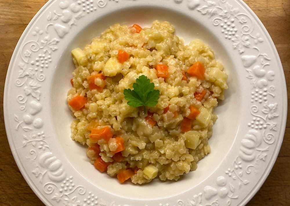 Etoilotto aux carottes et panais