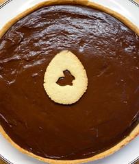 Tarte chocolat-noisette de Pâques 🐇