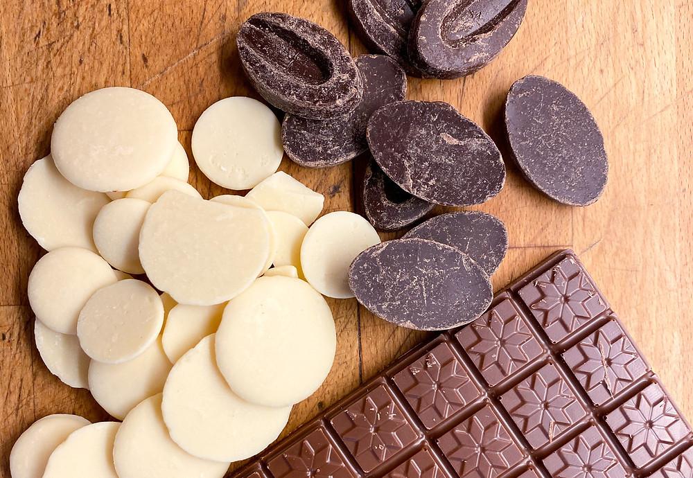 Chocolat noir, au lait ou blanc