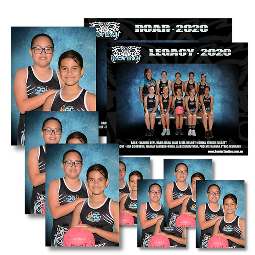 Sports Team Photos - Sibling/Family/Friends Packages