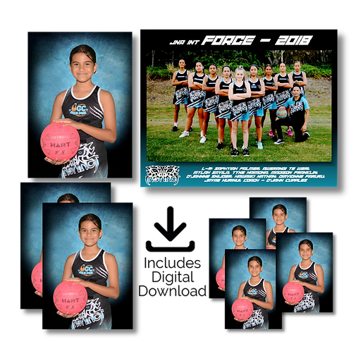 Sports Team Photos - Complete Package C