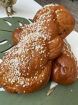 tsoureki covered with sugar.jpg