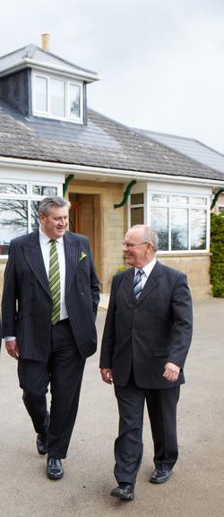 Adrian and John