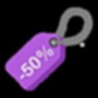 50% de réduction