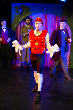 Kitty Juggling, from Sherlock Holmes & The Hooded Lance