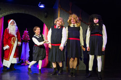The Girls of St Mildreds visit Santas Grotto, from Sherlock Holmes & The Hooded Lance