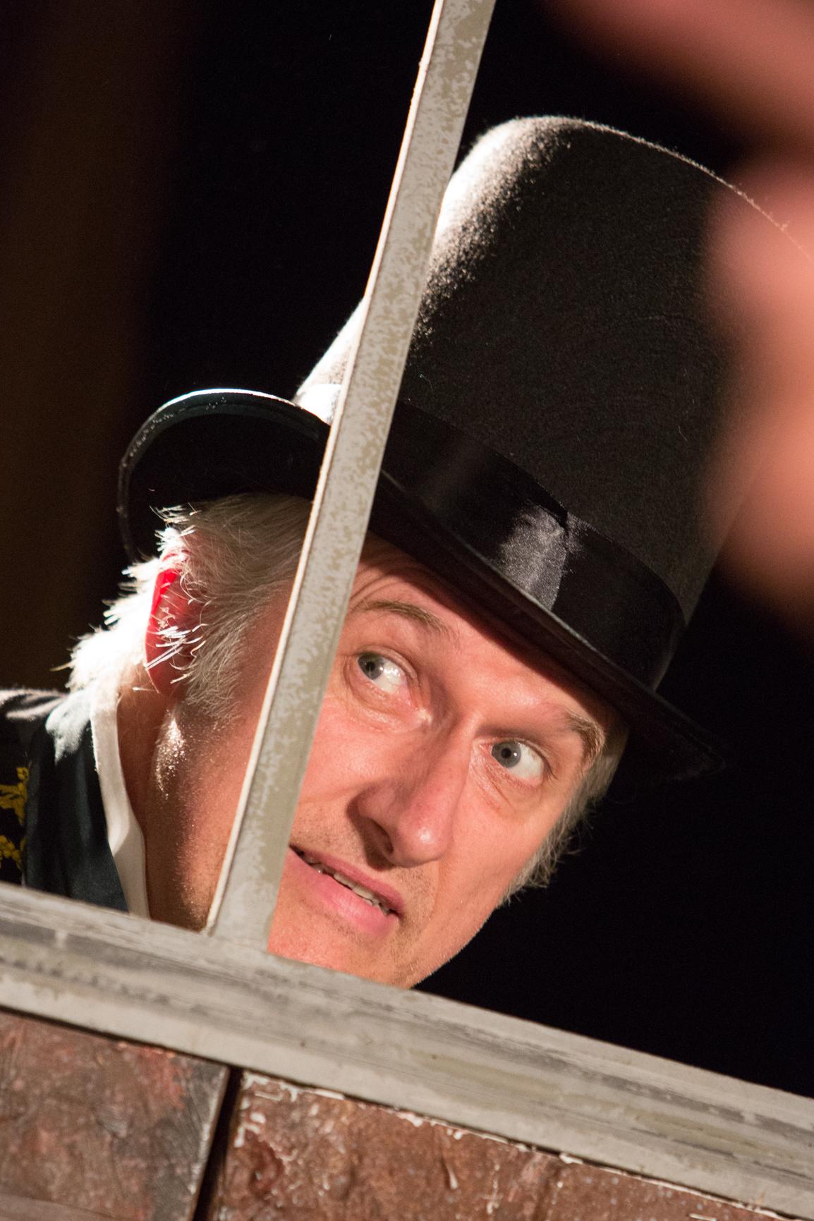 Julian Harries as Samson Brass in THE OLD CURIOSITY SHOP