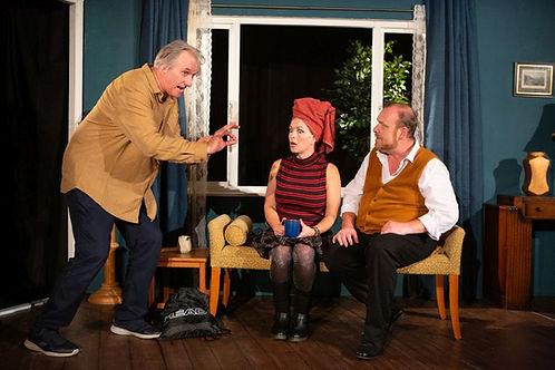 Julian Harries, Emily Bennett & Dick Mainwaring in A SIDECAR NAMED DESPAIR!