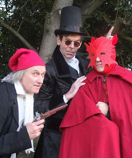 Julian Harries, Dougal Lee & Ben Waring