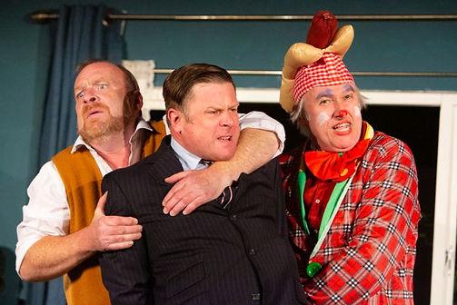 Dick Mainwaring, Charles Davies & Julian Harries in A SIDECAR NAMED DESPAIR!