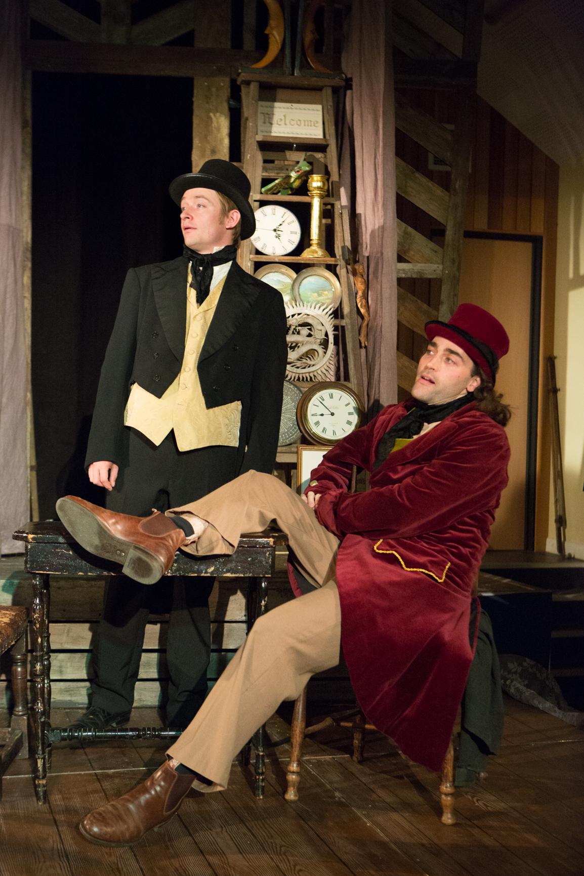 Joe Leat & Tristan Tellerl in THE OLD CURIOSITY SHOP